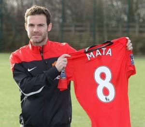 Juan Mata nr 8