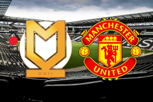 MK Dons - Manchester United