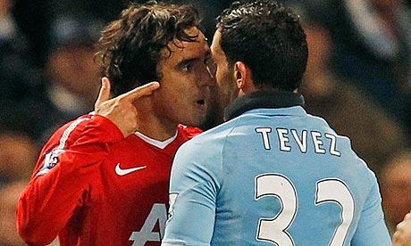 Rafael og Tevez
