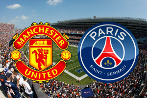 Manchester United - Paris Saint Germain í Chicago