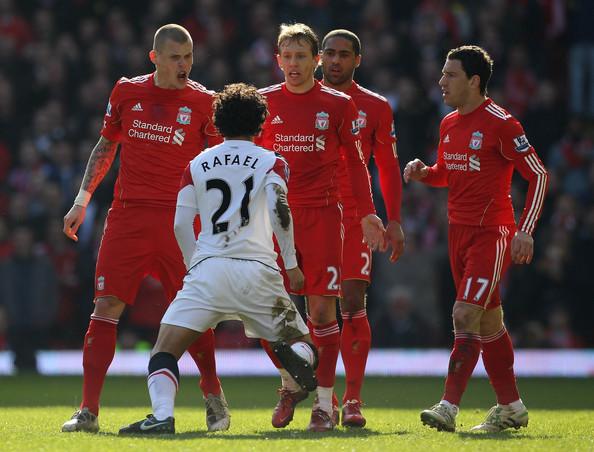 Rafael gegn Liverpool
