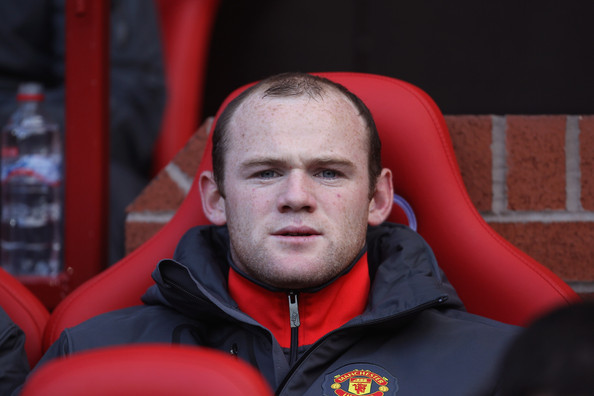 Rooney benched